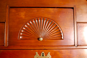 Fan Carved Drawer